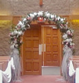 Arch Decorated With Artificial Flowers