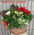 Christmas Celebration Garden Basket