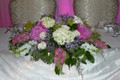 Head Table Centerpiece  Peonies And Hydrangea
