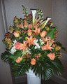 Hall Arrangement  With Tiger Lillies