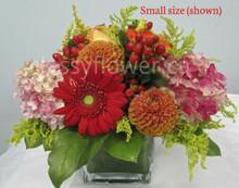 Small size vase arrangement