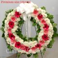 Premium size standing wreath