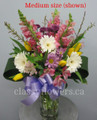 Spring Day Flower Arrangement In a Vase