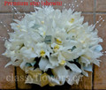 Hand Tied Bridal Bouquet With Cymbidium Orchids