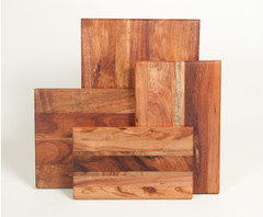 Serving and Cutting Boards in Koa Wood
