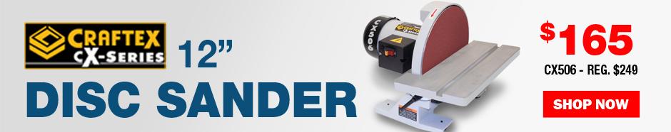CX-Series 12 INCH Disc Sander