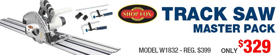 Shop Fox Track Saw Master Kit