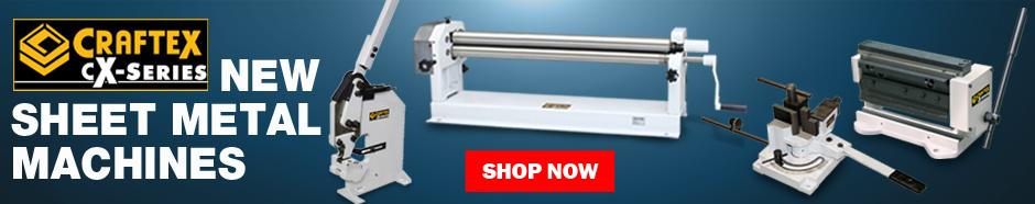 New Craftex CX-Series Sheet Metal Machines