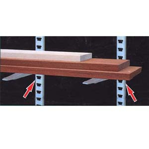 SHELVING WALL STRAP 2PCS 24IN.