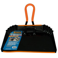 DUST PAN 16IN. WITH FOAM HANDLE