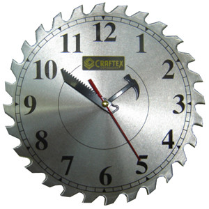 SHOP CLOCK 10IN. SAW
