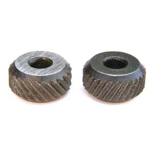 KNURLES PAIR FOR B279 COARSE