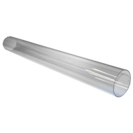 CLEAR TUBE 4IN. X 3FT