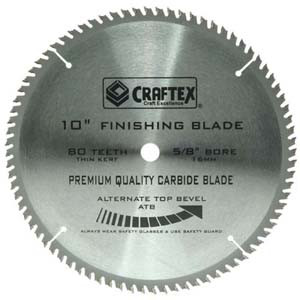 BLADE 10IN. X 80T ATB CRAFTEX