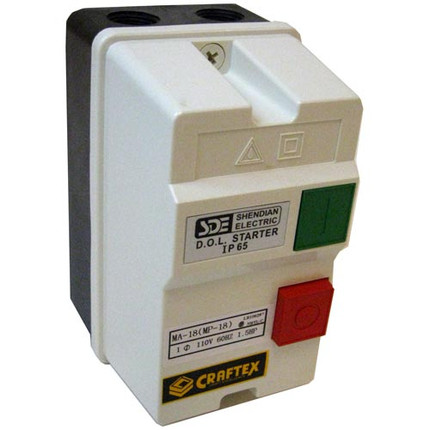 MAGNETIC SWITCH 110V 1.5HP 12A 18A CSA