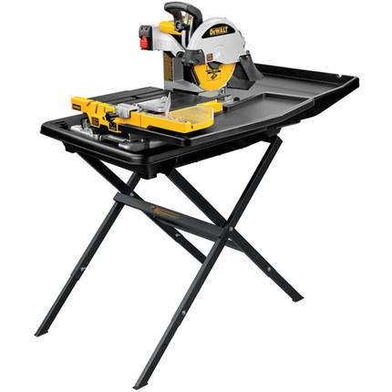 TILE SAW 10IN. PORTABLE WITH STAND DEWALT