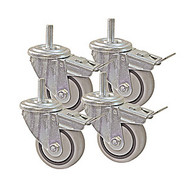 CASTOR SET 3IN. 4PCS KREG