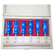 ROUTER BIT CROWN MOLDING SET 6PC
