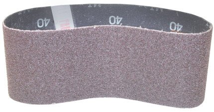 SANDING BELT 3IN. X 18IN. 40 GRIT