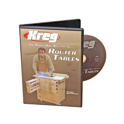 DVD ROUTER TABLE KREG