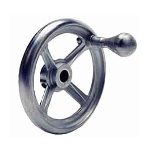 HAND WHEEL DIE CAST 4.5 OD X 0.375IN. BORE