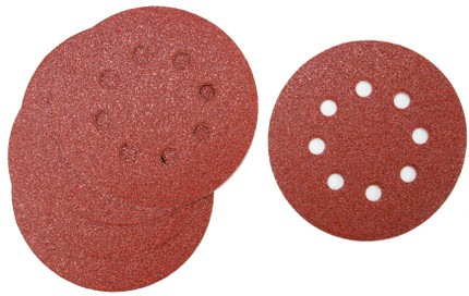 SANDING DISC 5IN. X8H 120G 5/PACK