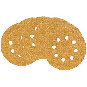 DISC SANDING 10/PK 5IN. X 100G H AND L