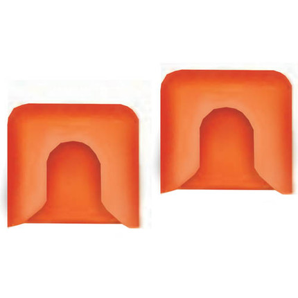 PIPE CLAMP PADS PONY 2 PAIR
