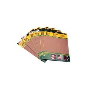 SAND PAPER AL.OX 9X11 220G 5PC/PAK 3M