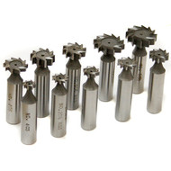 WOODRUFF CUTTER SET 10PC