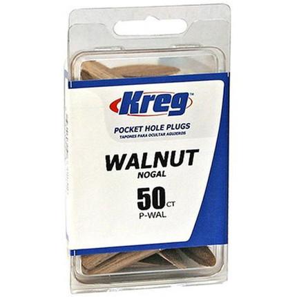 WALNUT PLUGS 50 COUNT KREG