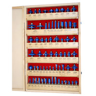 ROUTER BIT MASTER SET 66PC 1/2IN. SHANK