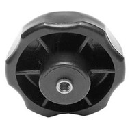 KNOB STAR 2 1/4IN. DX3/8IN. X16TPI THRU HOLE