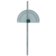 PROTRACTOR/DEPTH GAUGE ROUND 0 180DEG