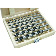 AUGER BIT SET DELUX 7 PC. 1/4IN. 1IN.