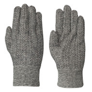 GLOVES CLOTH SALT AND PEPPER LARGE 1 PAIR