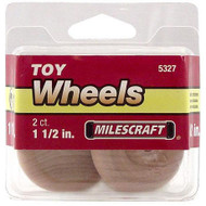 WHEELS TOY 1 1/2IN. 2/PKG