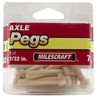 PINS AXLE 7/32IN. 8/PKG