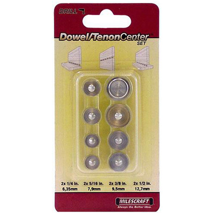 DOWEL TENON CENTER SET MILESCRAFT