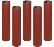 SANDING SLEEVES 1/2IN. X5 1/2IN. X 80G 5PC PK