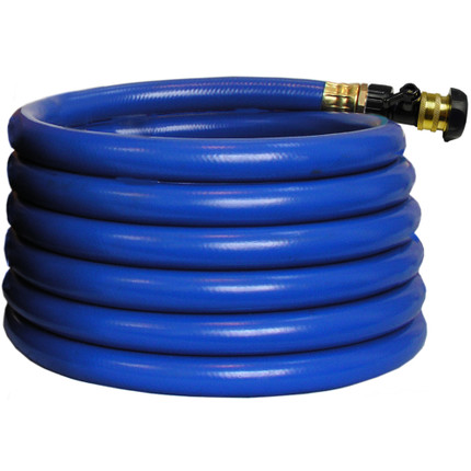 HOSE 25FT BLUE WITH FITTINGS COMPLETE FUJI