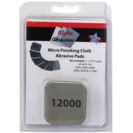 ABRASIVE PAD 2IN. X2IN. 6/PACK MICRO FINISHIN