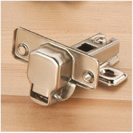 HINGES 110° HALF OVERLAY PAIR EURO STYLE
