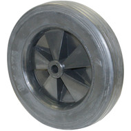 RUBBER WHEEL 8IN.