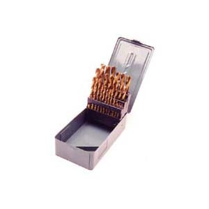 DRILL BIT SET 29PCS TITANIUM COATED