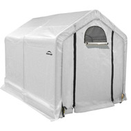 GREENHOUSE PEAK STYLE 6X8X6FT 8IN. CLEAR