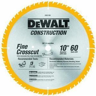 BLADE SAW 10IN 60T DEWALT