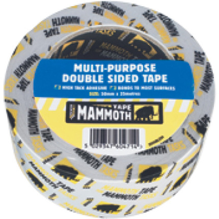 TAPE DOUBLE SIDED POWER GRIP 25MM X 2.5M