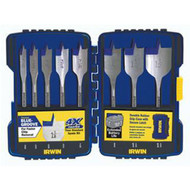 SPEED BIT 8PC BLUE GROOVE SPEEDBOR IRWIN