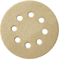 DISC SANDING 100/PK 120G 8H 5IN. H AND L